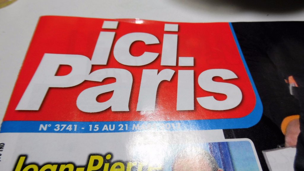 magazine ICI PARIS